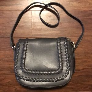 Handbags - Lionel Handbag Gray Saddlebag